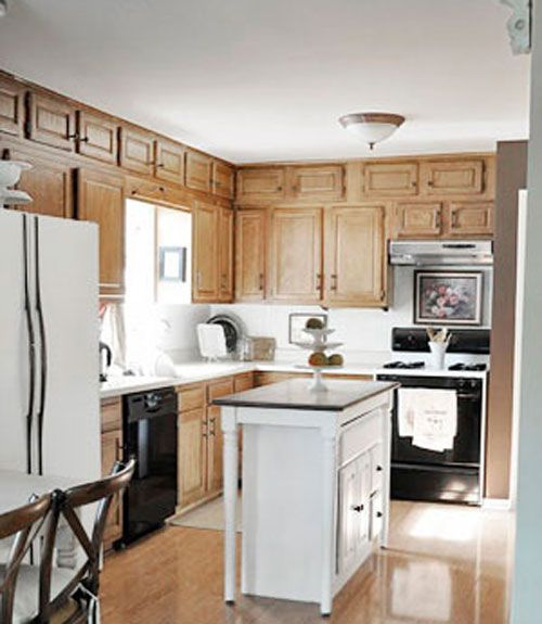 diy design farmhouse makeover makeovers cabinets kitchen including appliances painting for
