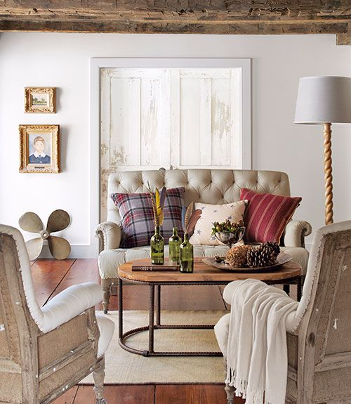 Cottage Living Room Design.  Country Cottage Decorating Ideas Style