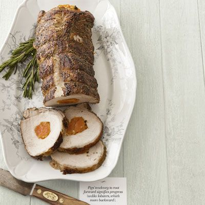 Apricot Stuffed Pork Loin Recipe