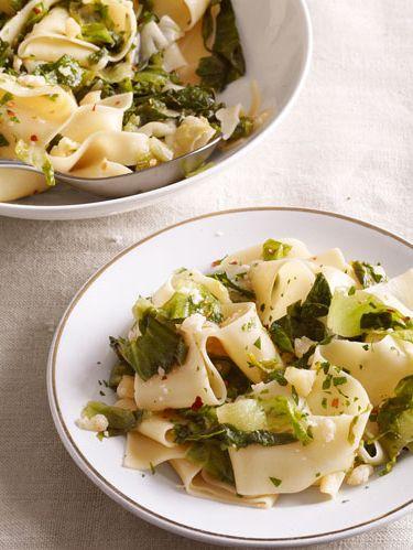 pappardelle with escarole recipe
