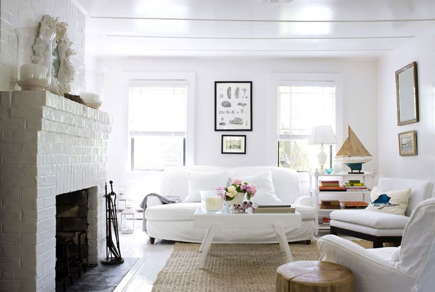 30 White Living Room Decor Ideas For
