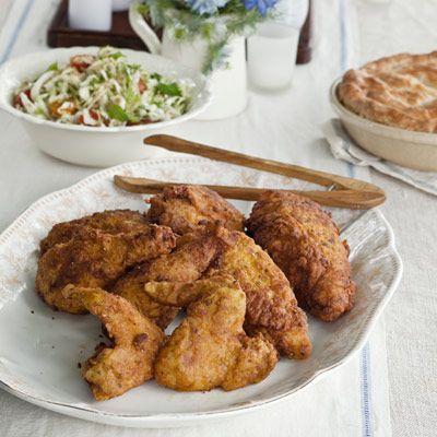 buttermilk brined fried chicken masala