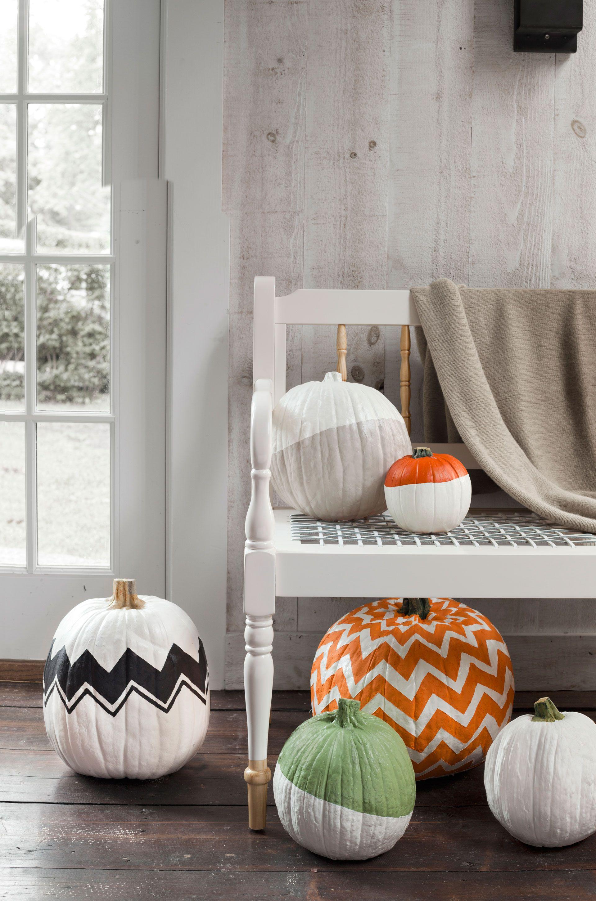 57 Easy Painted Pumpkins Ideas - No Carve Halloween Pumpkin Painting ...