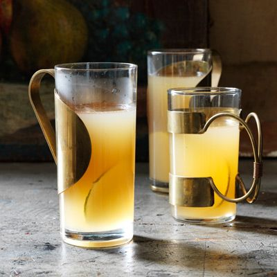 spiked pear cider