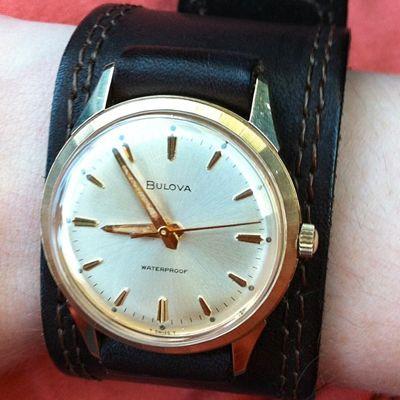 Vintage Bulova Watch Band Flea Market
