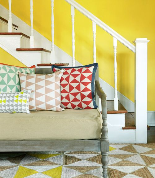 Yellow Decor - Decorating with Yellow