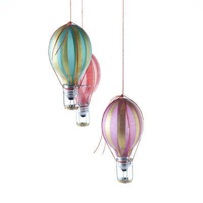 Danny Seo Hot Air Balloon Ornaments