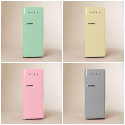 smeg refrigerators colorful home appliances. Black Bedroom Furniture Sets. Home Design Ideas