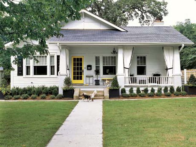 Exterior Of Ann Nicholsonu0027s North Carolina Home Post Renovation