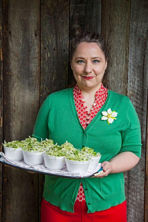 cabbage and cilantro slaw