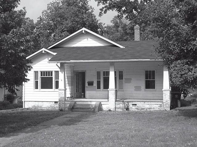 Elegant Exterior Of Ann Nicholsonu0027s North Carolina Home Before Renovation