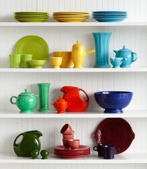& Fiesta Dinnerware - Fiestaware Colors