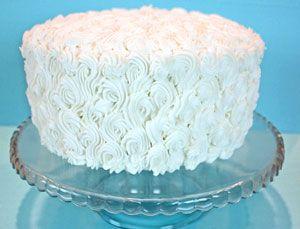 Zebra stripe cake on the outside…