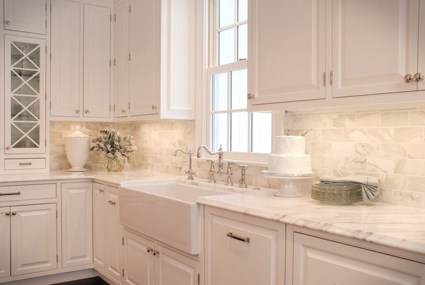 Inspiring Kitchen Backsplash Ideas Backsplash Ideas For Granite Beauteous Kitchen Backsplash With White Cabinets