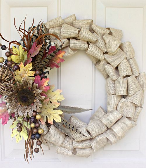 38 DIY Fall Wreaths - Ideas for Autumn Wreath Crafts