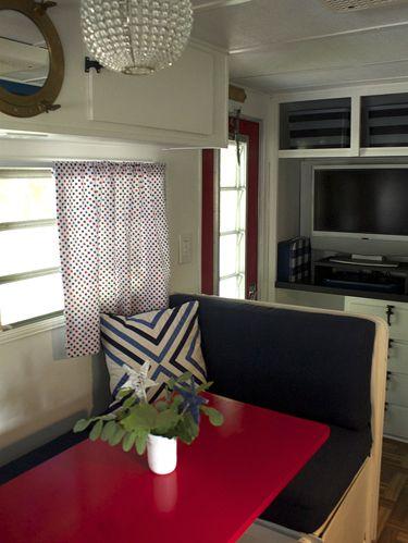 Vintage Camper Makeover Travel Trailer Decorating Ideas