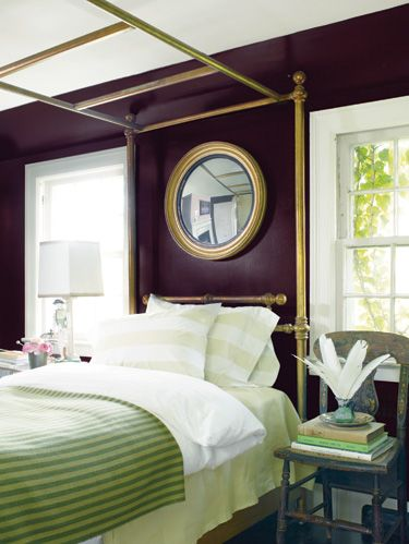 Room, Green, Interior design, Bed, Textile, Wall, Ceiling, Furniture, Linens, Bedroom,