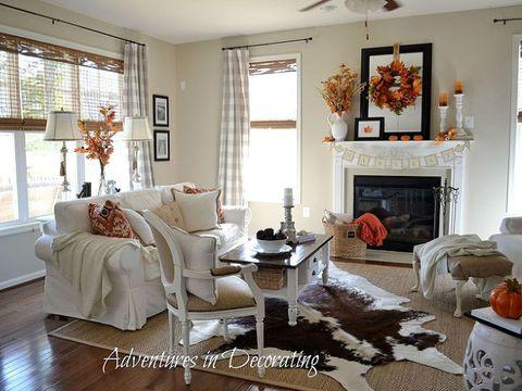 Fall Living Room Makeover - Hometalk Decorating Ideas