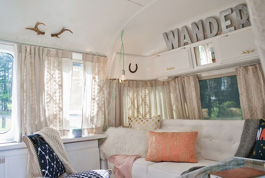 Sarah Schneider Airstream Airstream Decorating Ideas Delectable Airstream Interior Design Painting