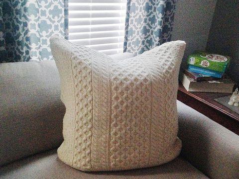 Sweater Pillow Craft Hometalk Diy Ideas