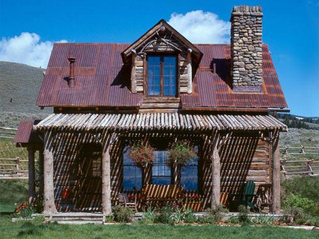 Swedish Guest Cabin Tiny Montana House Tour