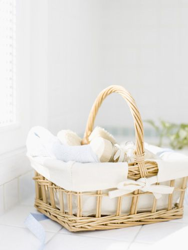 Product, Wicker, Basket, Home accessories, Storage basket, Beige, Picnic basket, Natural material, Present,