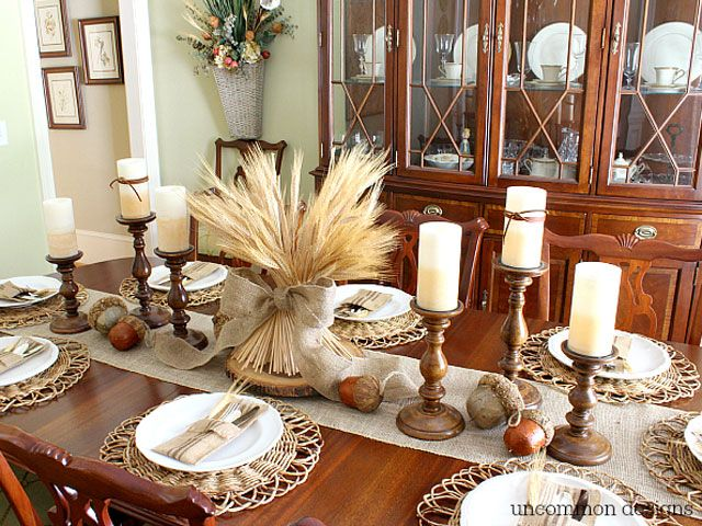 & 34 DIY Thanksgiving Centerpieces - Thanksgiving Table Decor