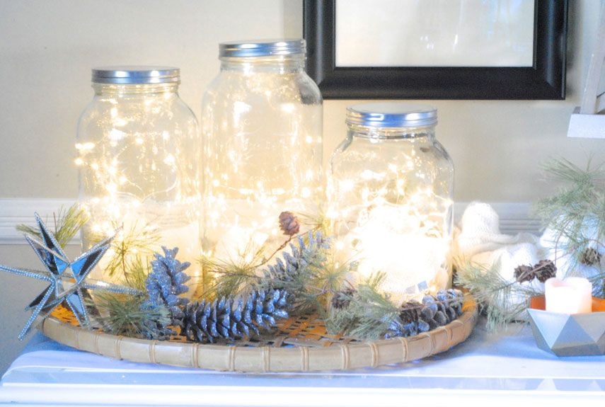 52 Mason Jar Christmas Crafts Fun Diy Holiday Craft Projects