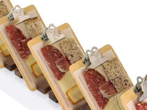 charcuterie served on clipboards pinch food design book excerpt