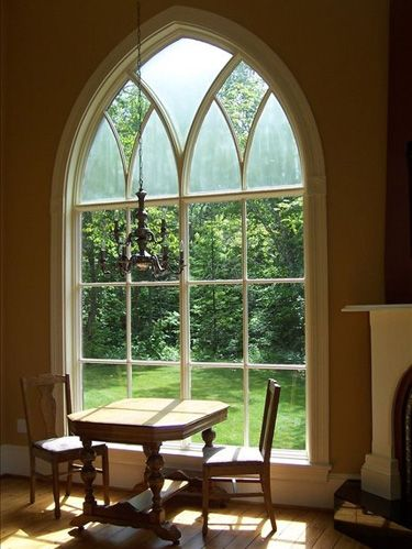 Wood, Room, Glass, Furniture, Table, Interior design, Hardwood, Floor, Flooring, Arch,