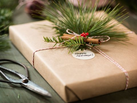 Eco-Friendly Holiday Gift Wrap
