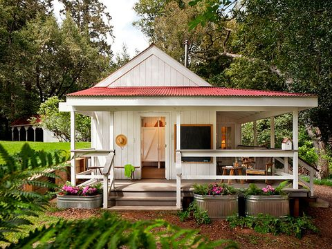 Richardson Architects 260-Square-Foot House - Colorful Tiny House