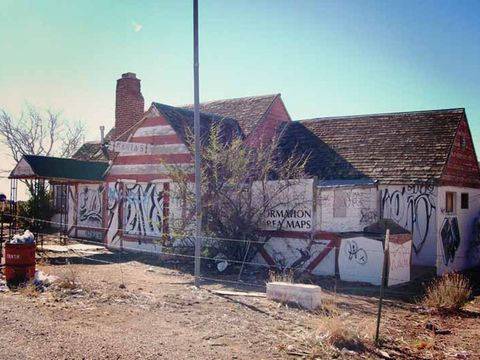 We're Fascinated by This Abandoned Christmas-Themed Desert Town ...