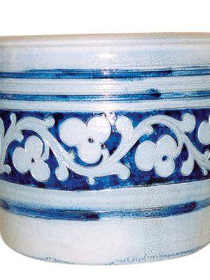 Imported Salt-Glazed Stoneware Jar