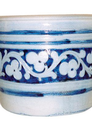Imported Salt-Glazed Stoneware Jar