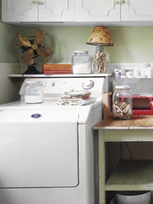 I Would Like To Update My Laundry Room But Canu0027t Afford A Complete Remodel.  What Can I Do To Make The Area More Attractive And Functional, Without  Spending ...