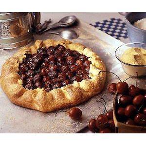 farm stand cherry pie