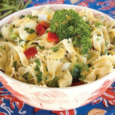 paula deens bow-tie pasta salad