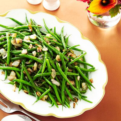 string beans with shallots