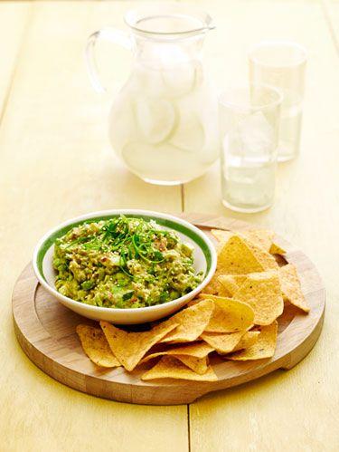 spicy sesame guacamole