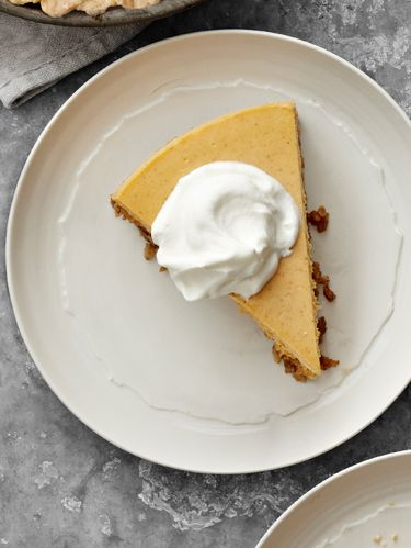 pumpkin goat cheese cheesecake
