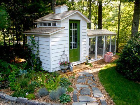 Plant, Wood, Property, House, Landscape, Real estate, Building, Home, Door, Roof,