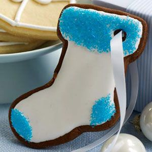 hang the stockings gingerbread cookies