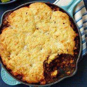 Cornbread-Beef-Skillet-Pie