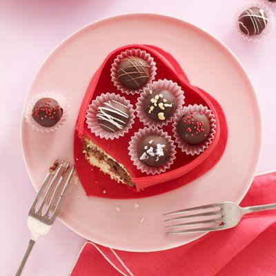 truffle box cake