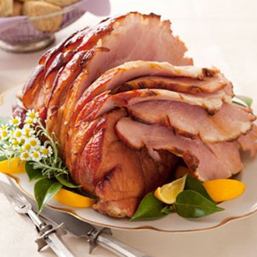 ham with bee sting glaze