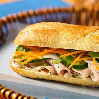 vietnamese turkey sandwich