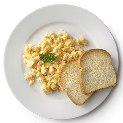 basic scrambled eggs