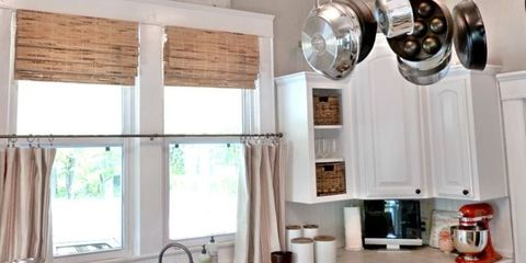 Room, Interior design, Plumbing fixture, Ceiling, Interior design, Window treatment, Window covering, Tap, Fixture, Sink,