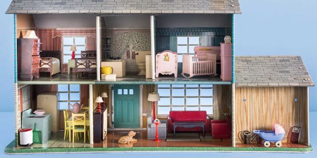 - Antique Dollhouses - Dollhouse Furniture